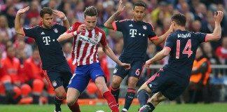 Atletico 1-0 Bayern Munich