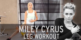 Miley cyrus ​work out