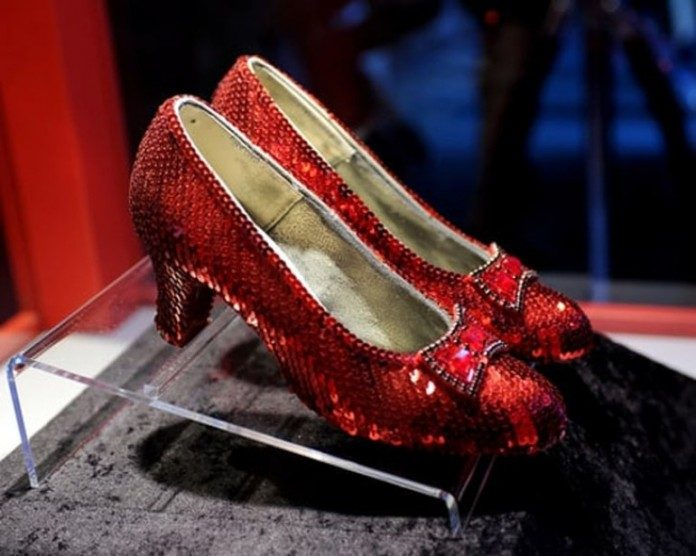 The Wizard of oz Original Ruby Slippers