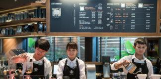 Starbucks Reserve Coffee Experience Bar