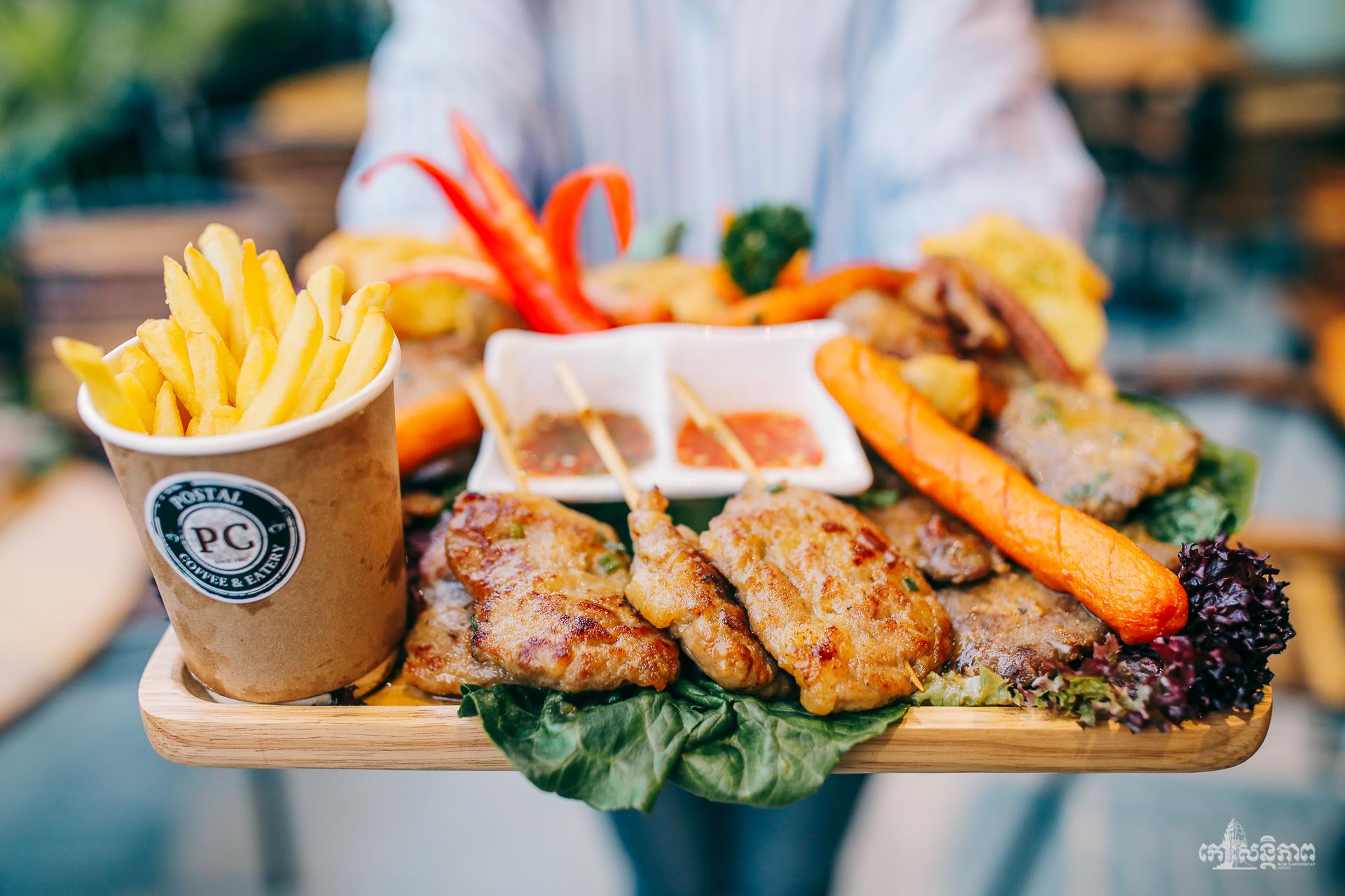 ហាង Postal Coffee & Eatery