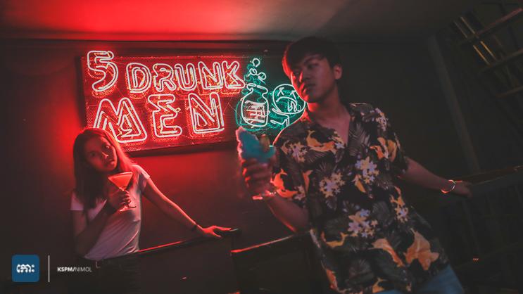 5 Drunk Man