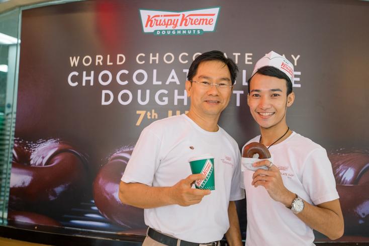 ហាង Krispy Kreme