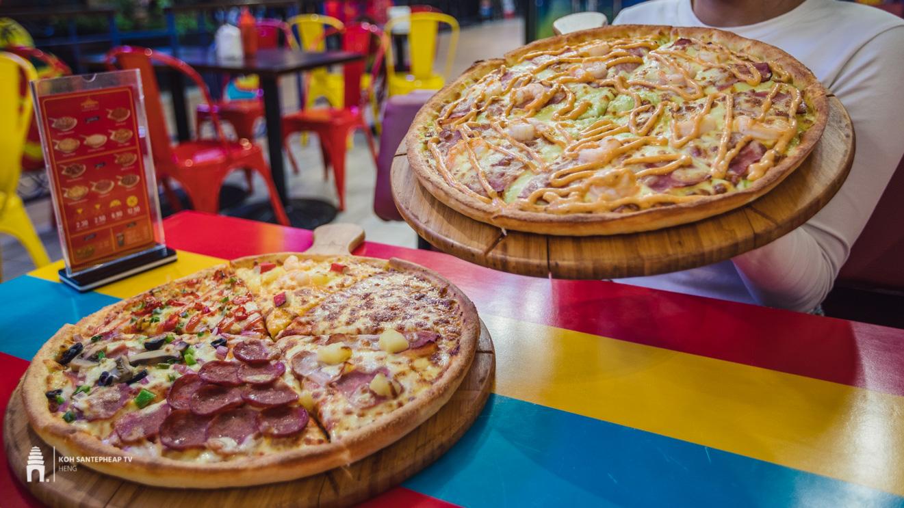 ហាង PEZZO Pizza Cambodiaហាង PEZZO Pizza Cambodia