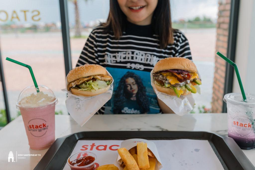 ហាង Stack Burger