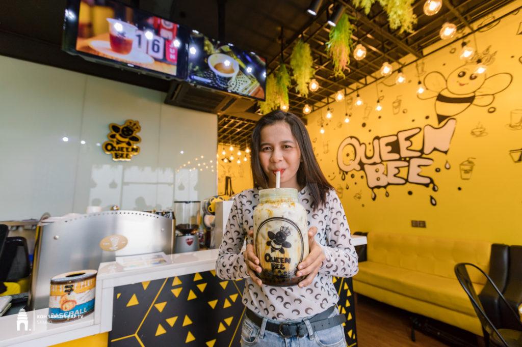 ហាង QueenBee Cafe