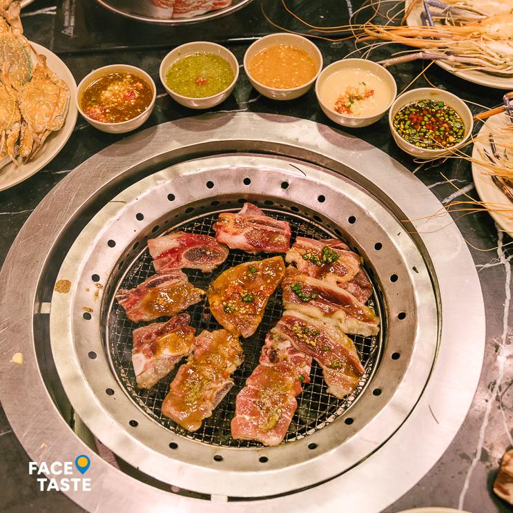 ហាង Saki Suki & BBQ