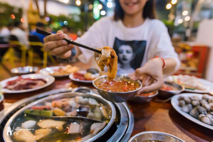 ហាង K Man Buffet BBQ & Soup