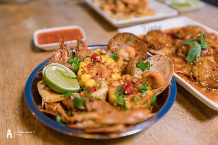 ហាង Tipsy Seafood
