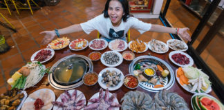 ហាង K Man Buffet BBQ & Soup