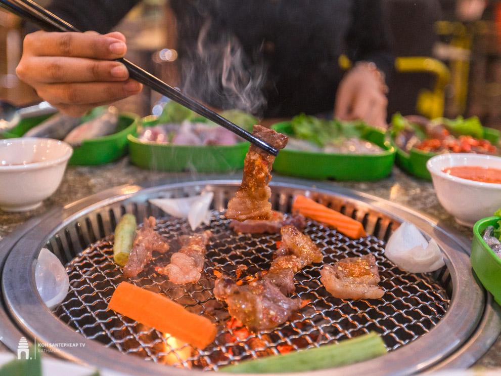 ហាង HENG MAN BBQ សាច់អាំងទឹកកាពិ