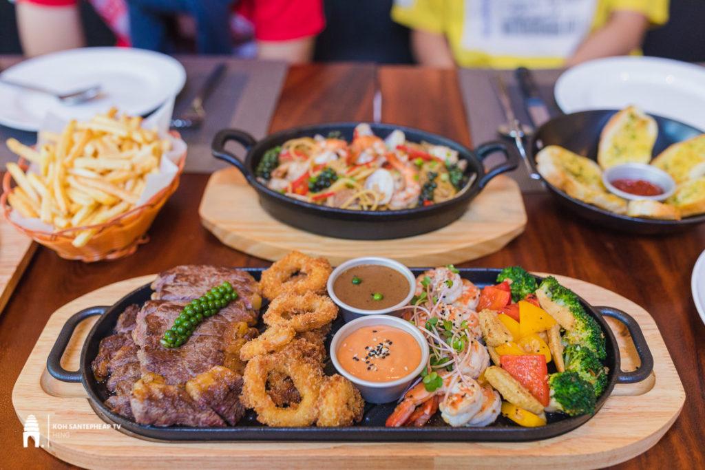 ហាង Steak & Pan