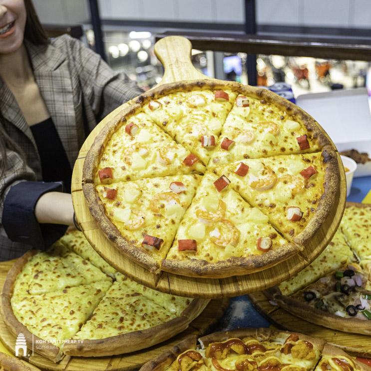 ហាង PEZZO Pizza Cambodia