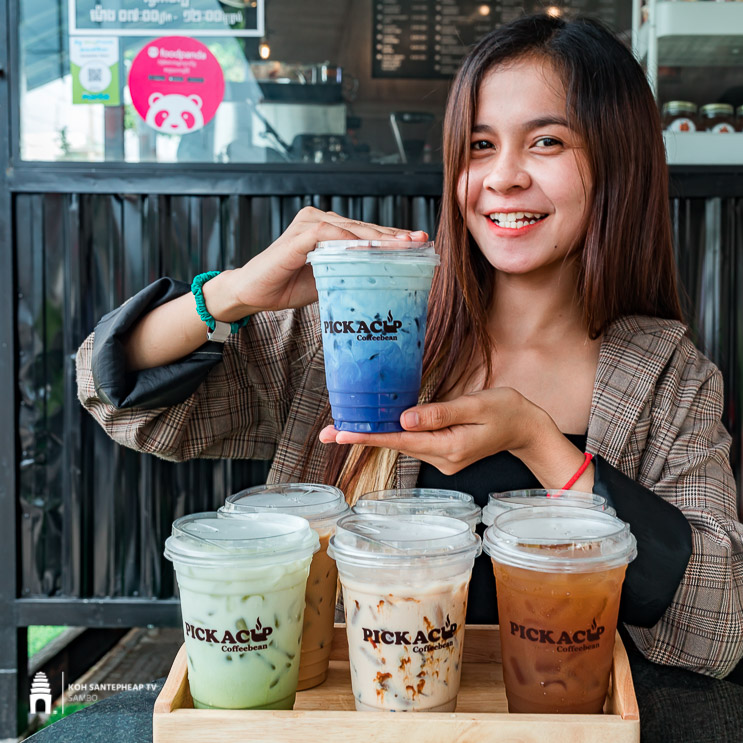 ហាង Pickacup coffeebean